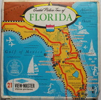 VIEW MASTER  POCHETTE DE 3 DISQUES   FLORIDA   A 960 - Stereoscopes - Side-by-side Viewers