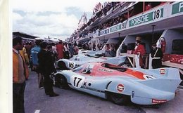 24 Heures Du Mans 1971  -  Porsche 917 LH  -  Pilotes: Jo Siffert/Derek Bell   -  15x10 PHOTO - Le Mans