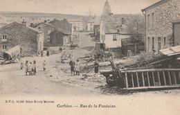Corbion  Rue De La  Fontaine Bien Animée Circulé En 1902 - Bouillon