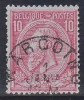 N° 46 - Warcoing - 1884-1891 Leopoldo II