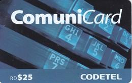 TARJETA DE REPUBLICA DOMINICANA DE COMUNICARD DE CODETEL $25 - Dominicana