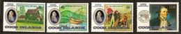 Cook Islands 1984 Yvertn° 801-804 *** MNH Cote 15 Euro James Cook Ausipex '84 - Cook