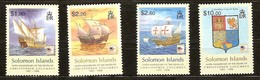 Solomon Salomon Islands 2006 Yvertn° 1180-1183 *** MNH Cote 7,50 Euro Bateaux Boten Ships - Salomon (Iles 1978-...)