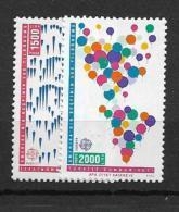 1992 MNH Cept Turkey - Europa-CEPT