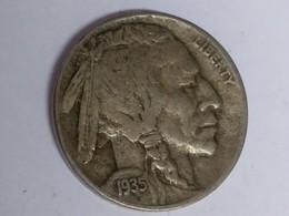 1935-D Buffalo Nickel - Bondsuitgaven
