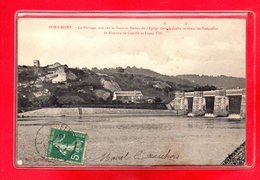 27-CPA PORT MORT - LE BARRAGE - Frankreich