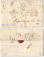 AR159) GRAN BRETAGNA - Paisley ( Scotland ) To Boulogne-sur-Mer ( France ) - 1832 - Gran Bretagna