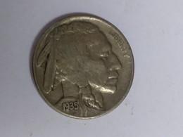 1935-S Buffalo Nickel - Émissions Fédérales