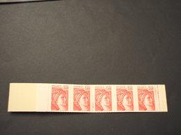 FRANCIA - CARNET SABINE 1,40 GOMME BRILLANTE(bordo Colorato E Bolli) -  NUOVI(++) - Libretti
