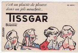 Juin18   81865     Buvard    Tissus Boussac   TISSGAR - Blotters