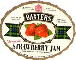 B 1858 - Etichetta, Baxters - Frutta E Verdura