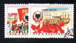 416 - 490 - ALBANIA 1981 , Yvert N. 1878/1879  Usato - Albania