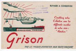 Juin18   81861     Buvard    Grison   Hydravion   Géant Princess - Shoes