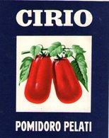 B 1860 - Etichetta, Cirio - Fruits & Vegetables
