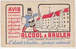 Juin18   81855    Buvard    Alcool à Bruler - Wash & Clean