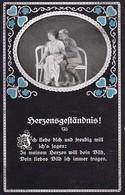 AK Herzensgeständnis - Deutscher Soldat Mit Frau -  Patriotika - 1. WK (34956) - Guerre 1914-18
