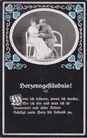 AK Herzensgeständnis - Deutscher Soldat Mit Frau -  Patriotika - 1. WK (34958) - Guerre 1914-18