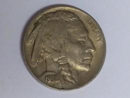 1938-D Buffalo Nickel - Émissions Fédérales