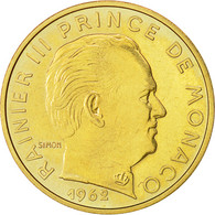 Monnaie, Monaco, 20 Centimes, 1962, TTB+, Cupro-Aluminium, Gadoury:MC 147 - Monaco