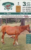 JORDAN - Horse, Tirage 100.000, 07/00, Used - Jordan