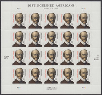 !a! USA Sc# 3432A MNH SHEET(10) - Distinguished Americans: Edward Trudeau - Unused Stamps