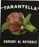 B 1864 - Etichetta, Tarantella - Frutta E Verdura