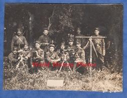 Photo Ancienne D'un Soldat Du 146e Régiment - Camp De MAILLY - Beau Portrait De Militaire Avec Mitrailleuse & Appareil - Guerre, Militaire