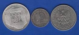 Pologne  3  Pieces - Polen