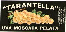 B 1865 - Etichetta, Tarantella - Frutta E Verdura