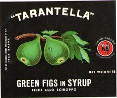 B 1866 - Etichetta, Tarantella - Frutta E Verdura
