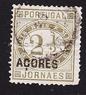 Azores, Scott #P1, Used, Newspaper Stamp Overprinted, Issued 1876 - Açores
