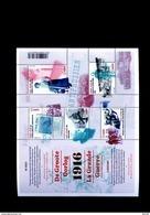Belgie BL236 2016 Nr 4594/98 World War I Resistance Petit Pirenne De Bueger MNH - Blocs 1962-....