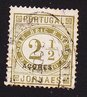 Azores, Scott #P2, Used, Newspaper Stamp Overprinted, Issued 1876 - Açores
