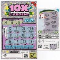 2 TICKETS JEUX A GRATTER Lotoquebec Canada - Billets De Loterie