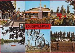 Grote Kaart Dolfinarium Brugge Boudewijnpark Poney Pretpark Fun Park VDJB ST. Michiels Sint - Brugge