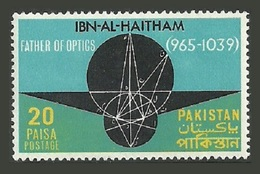 PAKISTAN 1969 MEDICAL OPTICS IBN-AL-HAITHAM PHYSICIST SET MNH - Pakistan