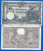 Belgique  2  Billets - [ 2] 1831-... : Belgian Kingdom