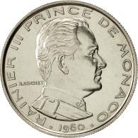Monnaie, Monaco, Franc, 1960, TTB+, Nickel, Gadoury:MC 150, KM:E38 - Monaco