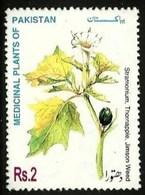 PAKISTAN 1997 MEDICINAL PLANTS THORNAPPLE SET MNH - Pakistan
