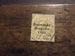 IRLANDA 1922 INDIPENDENZA 1 Sh USATO - 1922-37 Stato Libero D'Irlanda