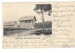 67 ROTHLACH POST HOWALD UBER BARR 1905 CPA 2 SCANS - Francia