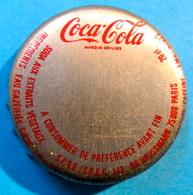 CAPSULE COCA-COLA S.P.B.G/S.R.B.G 142 BD HAUSSMANN 75008 PARIS - Soda