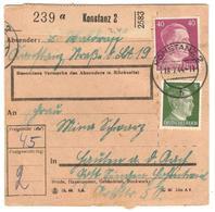 3002 - Bulletin De Colis - Allemagne