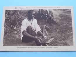 Melaatsche Muzikant Van LEOPOLDSTAD ( Belgisch Congo ) Franciscanessen WOLUWE - Anno 19?? ( Zie Foto Voor Details ) ! - Missions