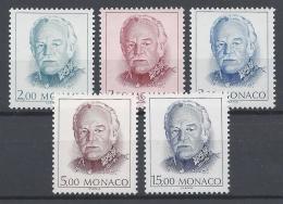 MONACO 1989 Nº 1671/1675 - Ungebraucht