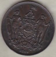 BRITISH NORTH BORNEO. ONE CENT 1885 H . VICTORIA. KM# 1 - Malaysie