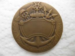 Médaille Ligue Maritime Et Coloniale Française, Par Rivet - France