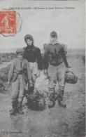 CHATELAILLON - PECHEUSES ET JEUNE PECHEUR D'HUITRES - SUPERBE ANIMATION - 1915 - Châtelaillon-Plage
