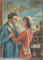 """RIEN QUE TOI   N° 105  """"    """" -  18 MARS  1950 - Livres, BD, Revues"""