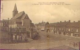 CHAPELLE-LEZ-HERLAIMONT « L'église Saint-Germain Et La Place De L'église » - Chapelle-lez-Herlaimont